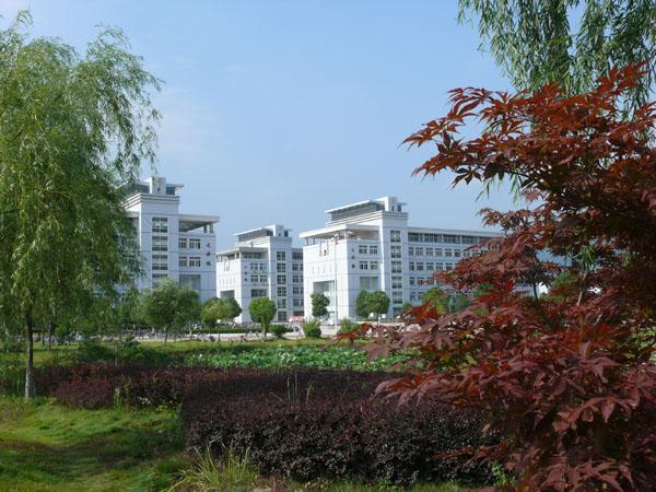 安庆师范学院新校区一角