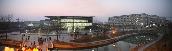 安徽科技学院西校区夜景